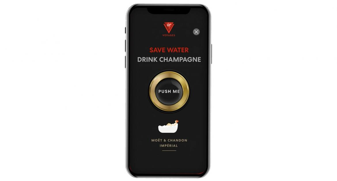 Raise a Toast, Shake a little: Virgin Voyages launches Shake-for-champagne app for bubbly delivery -