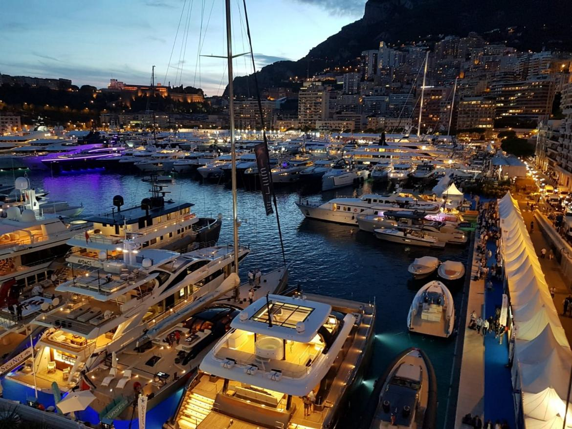 From Yachts with outdoor cinemas and glass elevators to floating surfboards - Here are the most standout yachts and gadgets from the 2019 Monaco Yacht show -