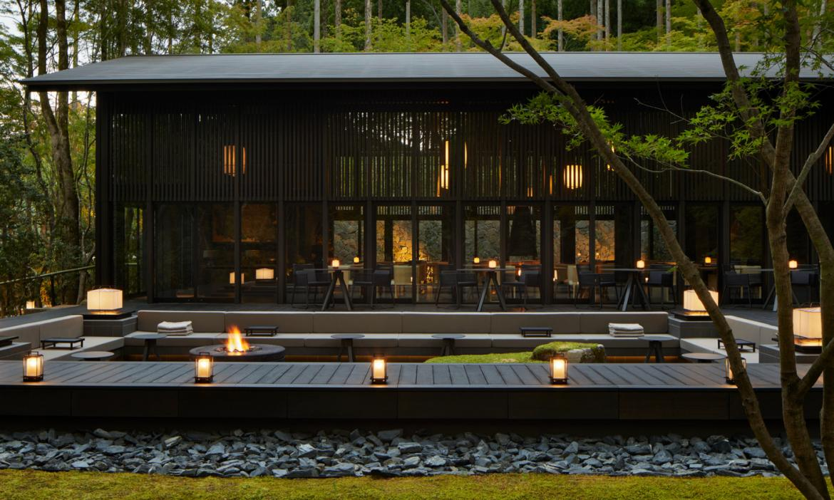 Set among 17 UNESCO world heritage sites - Take a closer look at the Aman Kyoto resort -