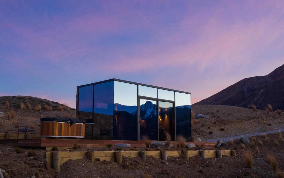Inside the new luxury glamping 'Lindis Pods' in New Zealand -