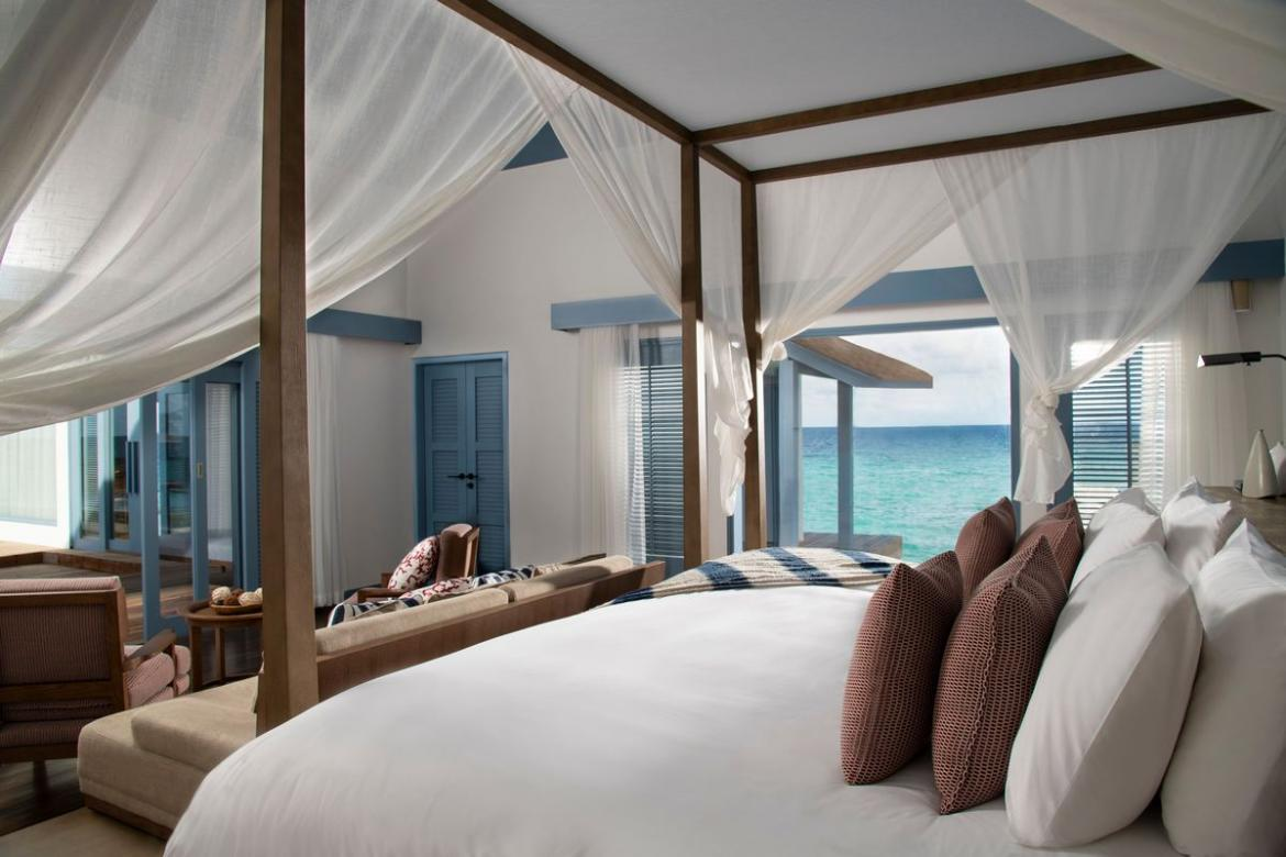 Suite of the week: Sunset overwater villa at the Raffles Maldives, a haven of rejuvenation, fun and food -