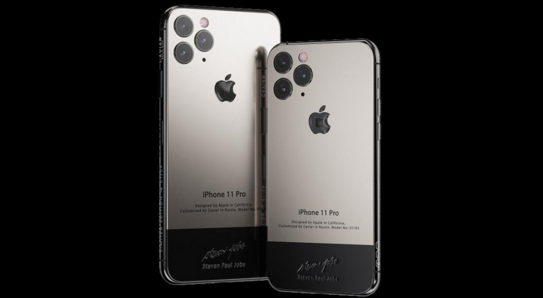 This $6000 customized iPhone 11 comes with a piece of Steve Jobs' iconic turtleneck -