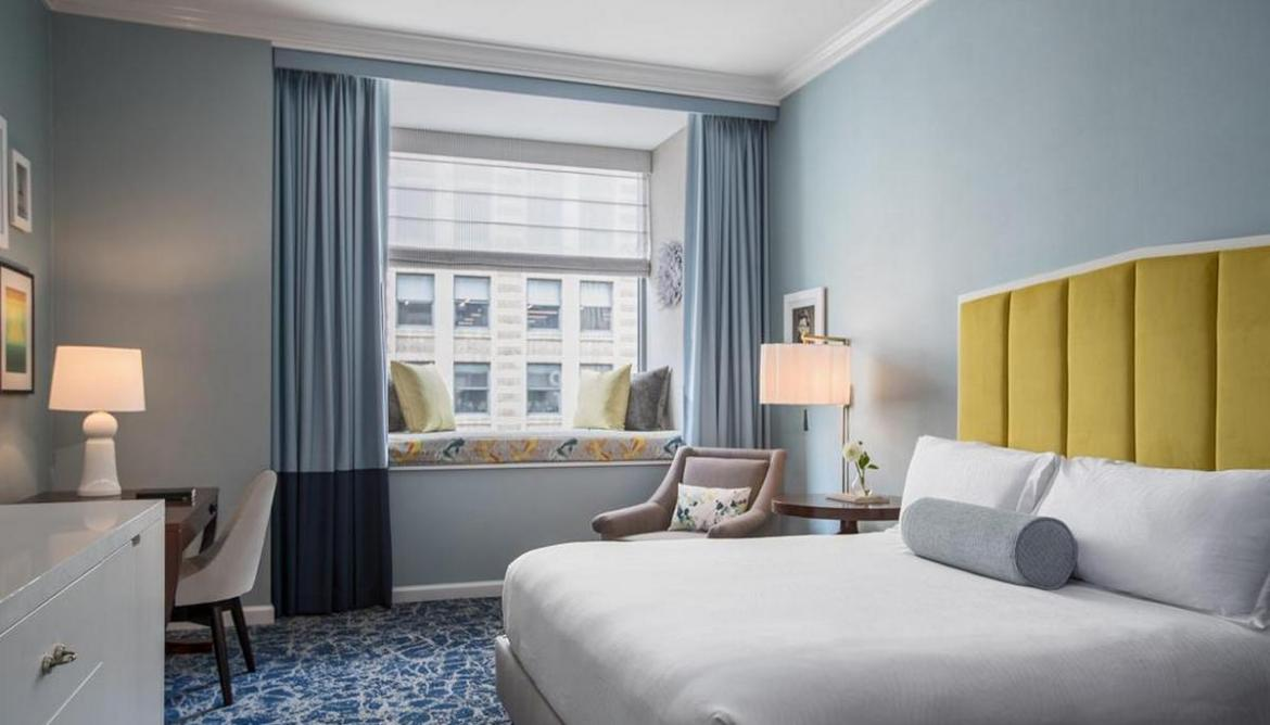 The different types of window treatments hotels do to make sure you have a crystal clear view of the outside -