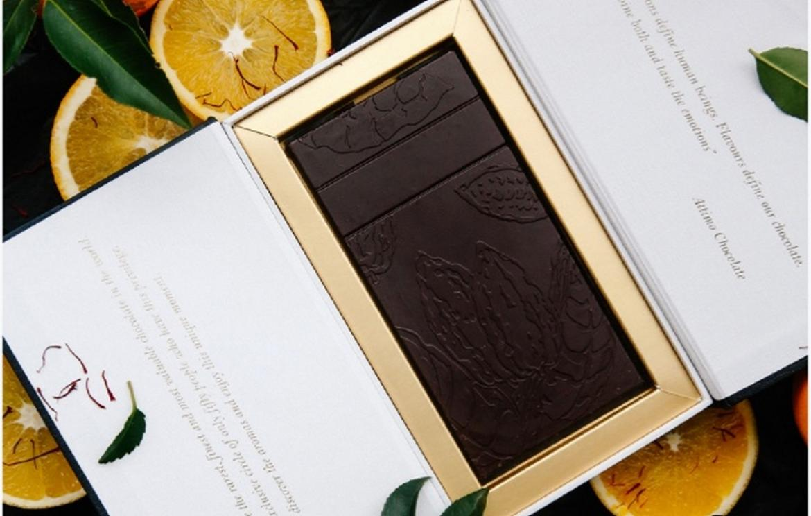 A slab costs more than an iPhone - According to the Guinness records this is the most expensive chocolate in the world -