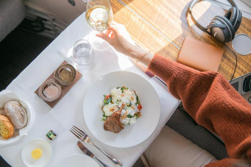Cathay Pacific business and first-class experience (1)