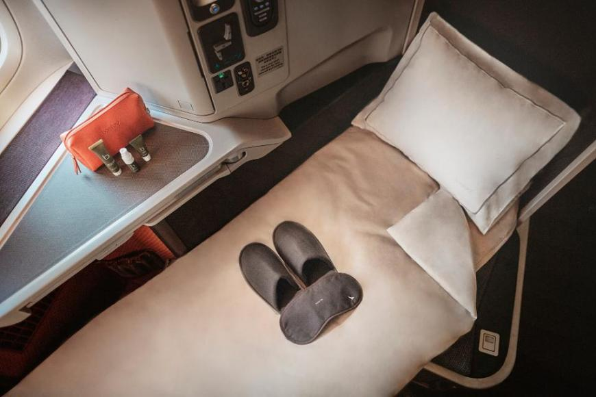 Cathay Pacific business and first-class experience (3)