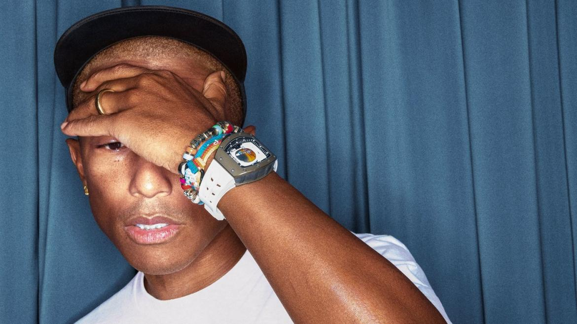 Pharrell Williams collaborates with Richard Mille to create a million-dollar space inspired watch -