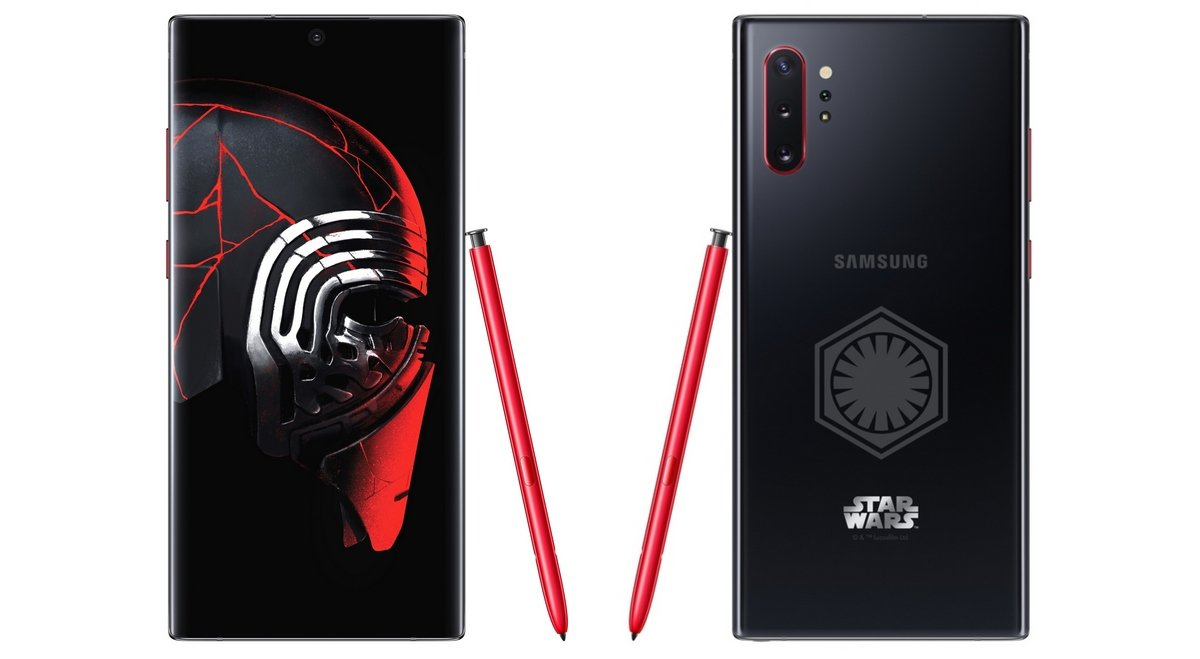 Samsung's new Kylo Ren-themed Galaxy Note10+ Star Wars Special Edition will draw you to the dark side : Luxurylaunches