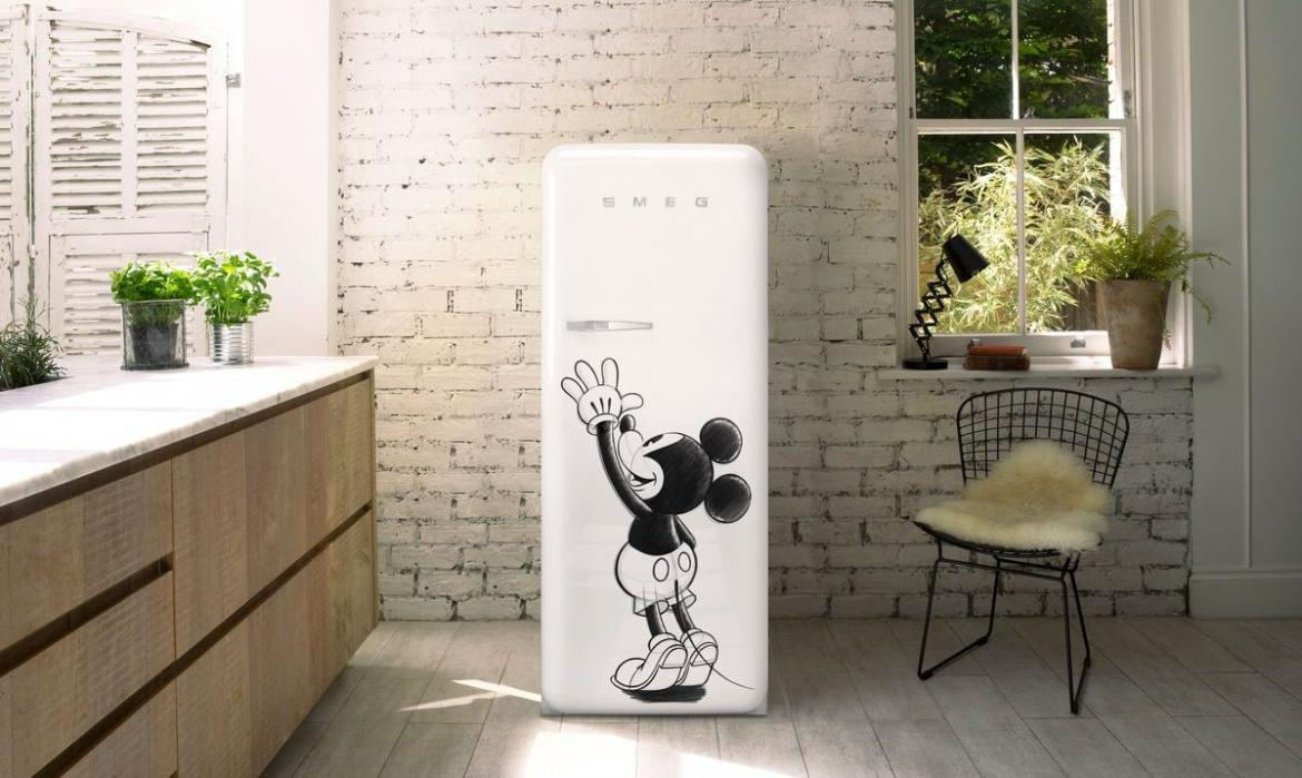 Smeg and Disney launch all-exclusive limited-edition Mickey Mouse refrigerators -