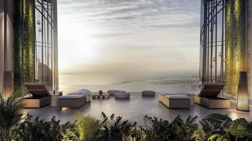 Pics - The world's tallest hotel is coming up in Dubai and it will have a stunning infinity pool -