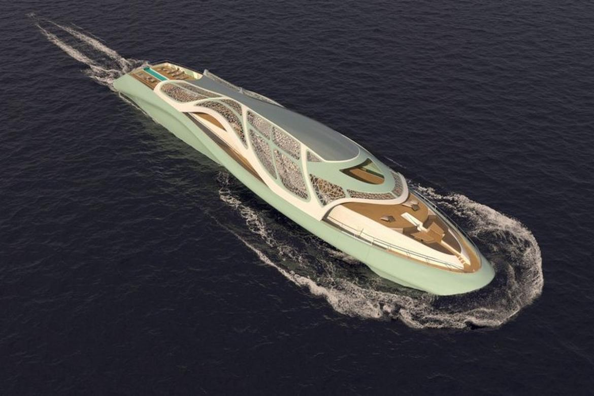 Complete with a gym, spa, infinity pool and more - This James Bond-styled luxury superyacht transforms into a submarine -