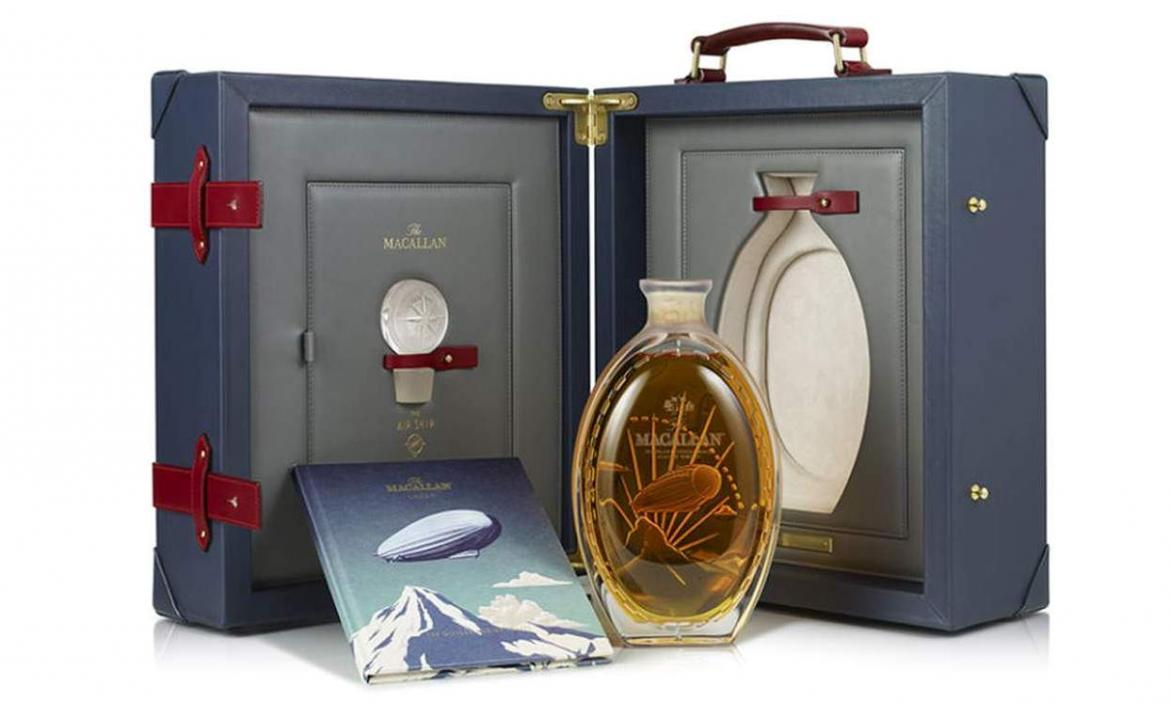 A single malt for $50,000 - Macallan launches a final whiskey to their ultra-exclusive Golden age of travel series -