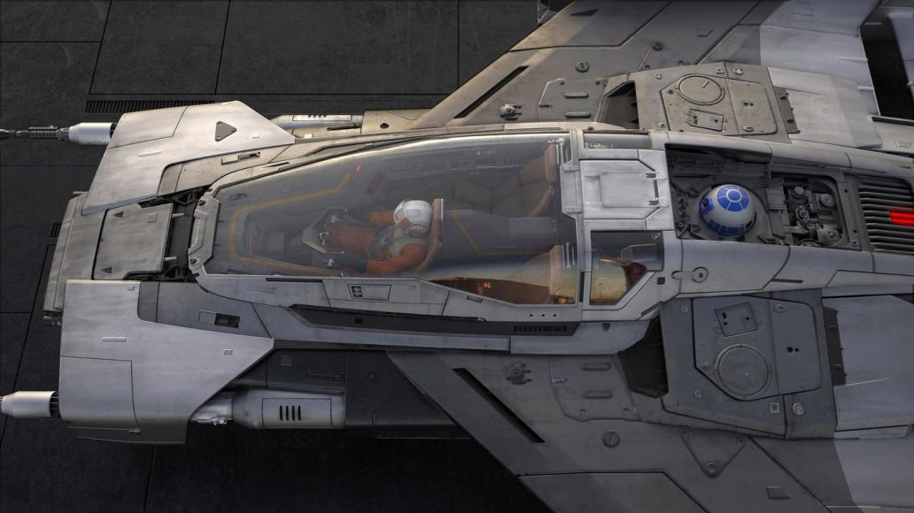 Porsche and Lucasfilm starship (1)