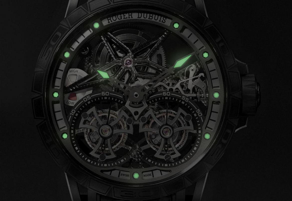 This one-off Roger Dubuis timepiece costs $350,000 and comes with a tailor-made Lamborghini driving experience on ice -