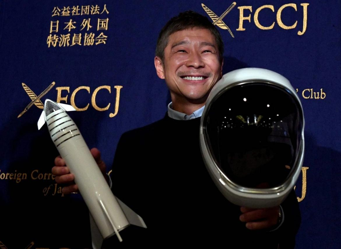 Japanese billionaire is accepting applications for a life partner along with the good life he is offering honeymoon on the moon -