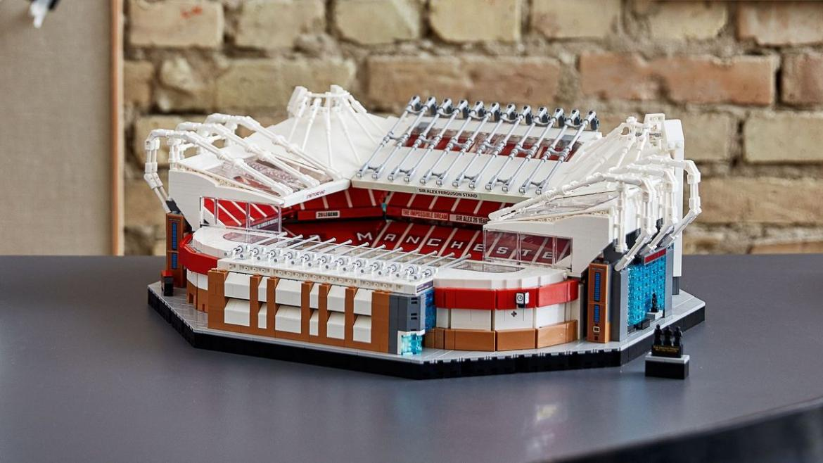 A must have for a Man U fan - A 3900 piece Lego set of the iconic Old Trafford stadium -