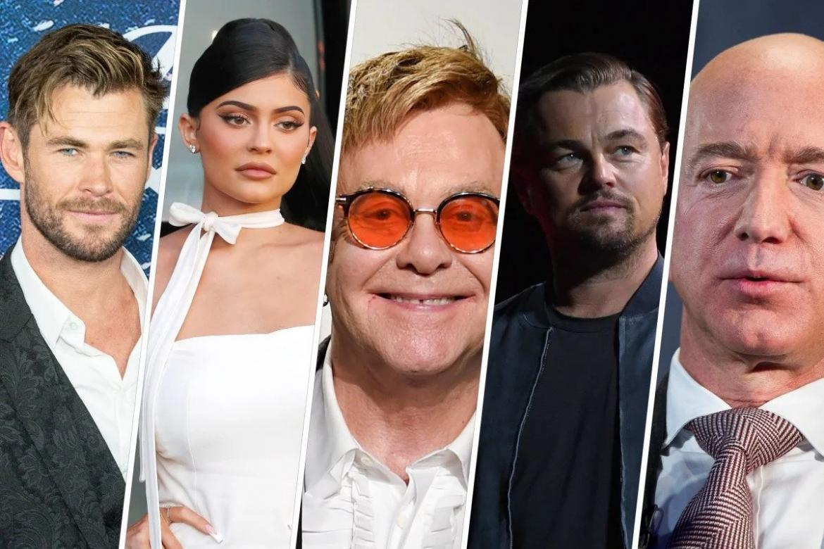 From Leonardo Di Caprio to Jeff Bezos to Chris Hemsworth - Take a look at how celebrities are helping in the fight against Australia's devastating wildfires -