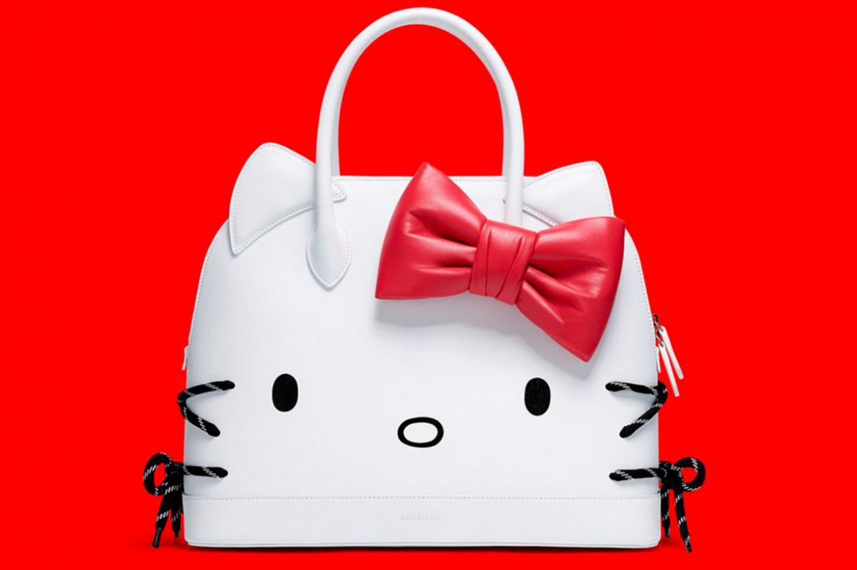 Arm candy of the week - Balenciaga's Hello Kitty bag -