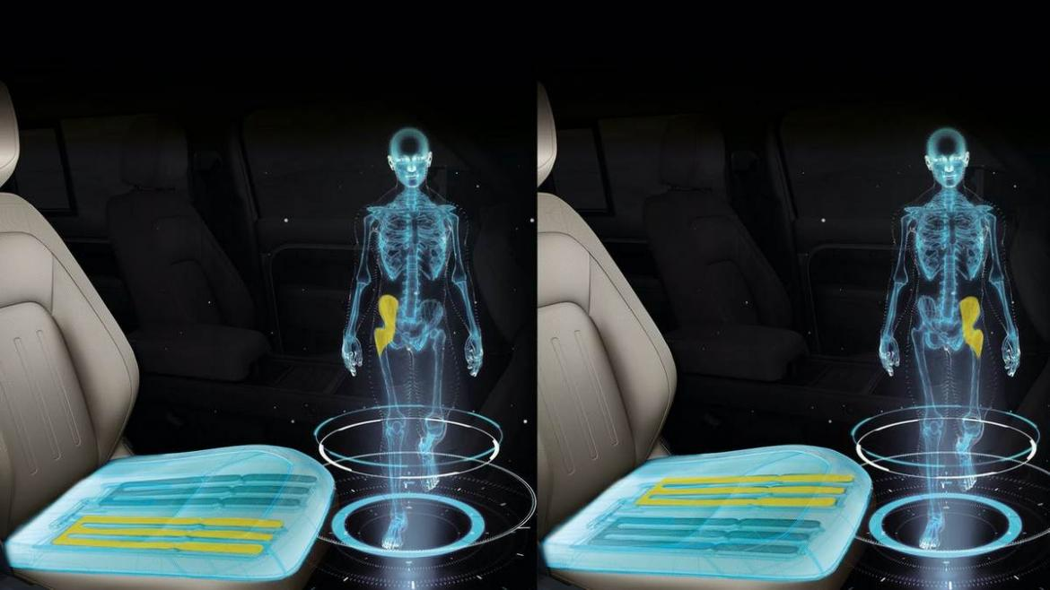 Jaguar showcases the car seat of the future - Its a shapeshifter and mimics walking : Luxurylaunches