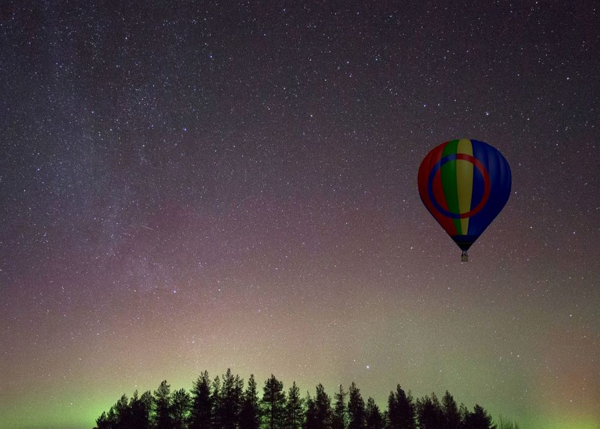 Not from an aircraft window or a bubble tent – This company is offering the most awesome way to see the Northern Lights