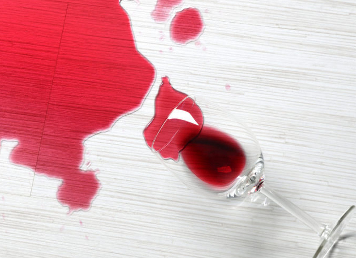 A sea of red wine – Sonoma Winery accidentally spills around 100,000 gallons of Cabernet Sauvignon