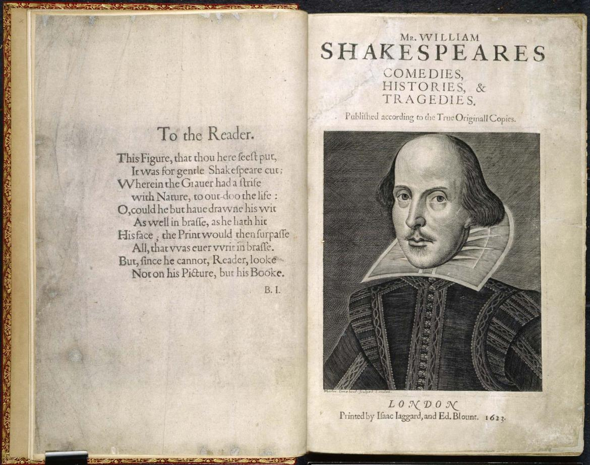 You could now get your hands on Shakespeare's 'First Folio' for an estimated price of $6 million -