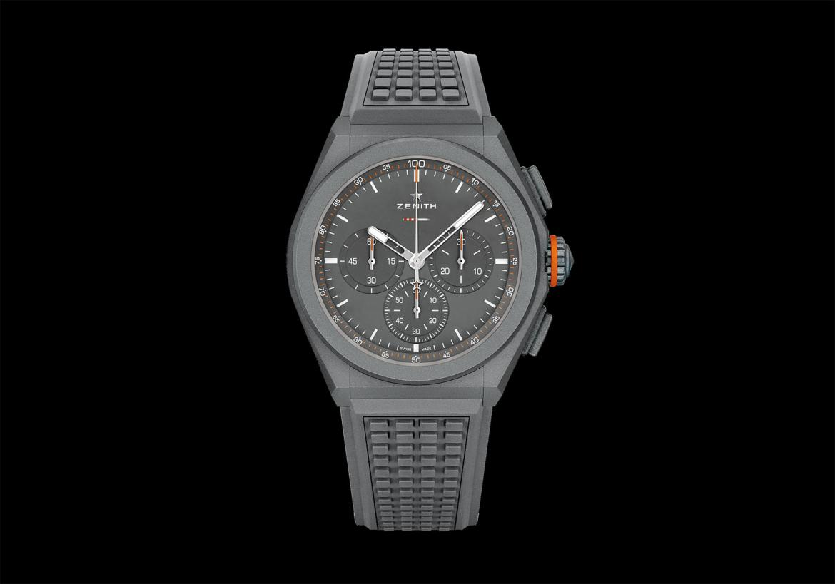 Zenith introduces a sporty chronograph inspired by the new Land Rover Defender -