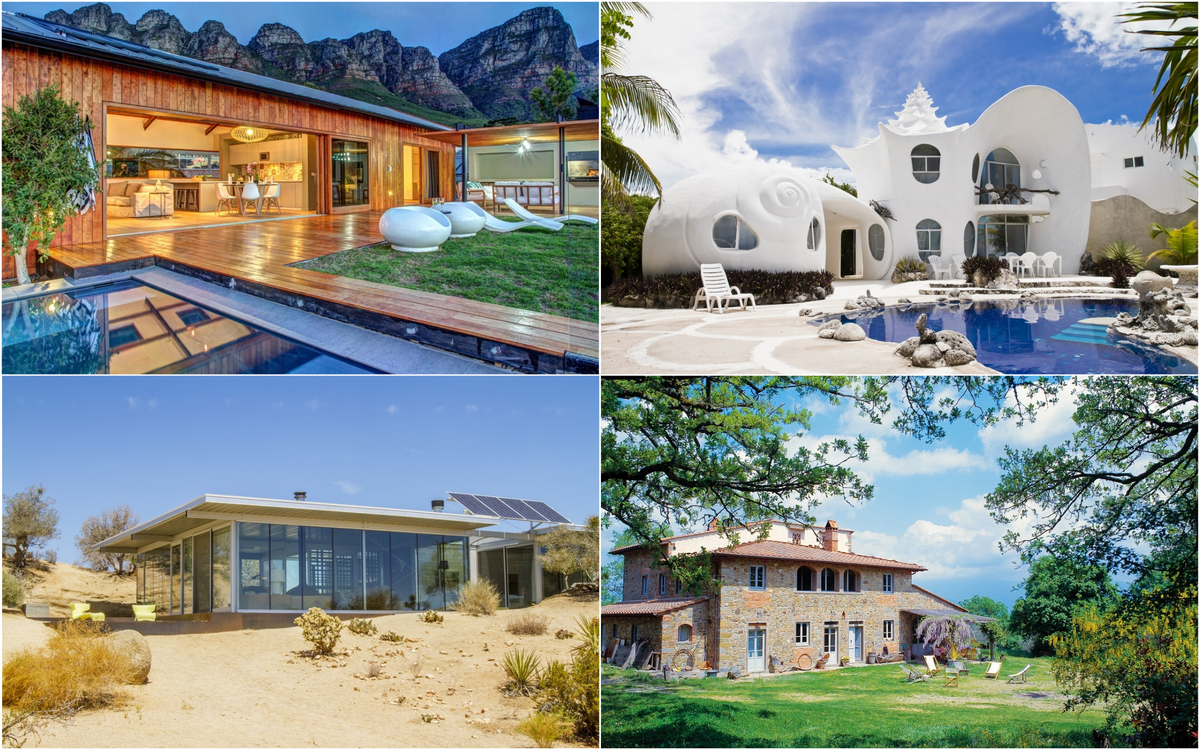 From a cave in Santorini to a Sea shell house in Mexico - According to AirBnB here are the 10 most wishlisted properties of the decade : Luxurylaunches