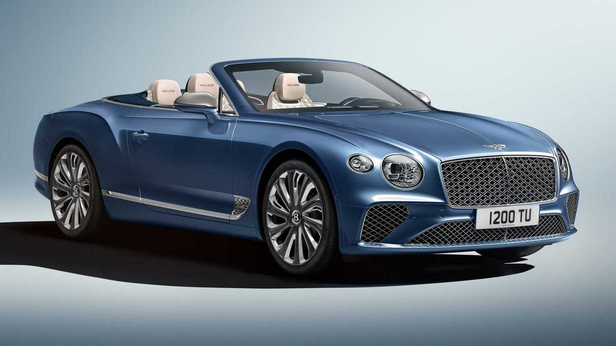 Bentley Continental GT Mulliner Convertible revealed with exclusive diamond-shaped touches all around : Luxurylaunches