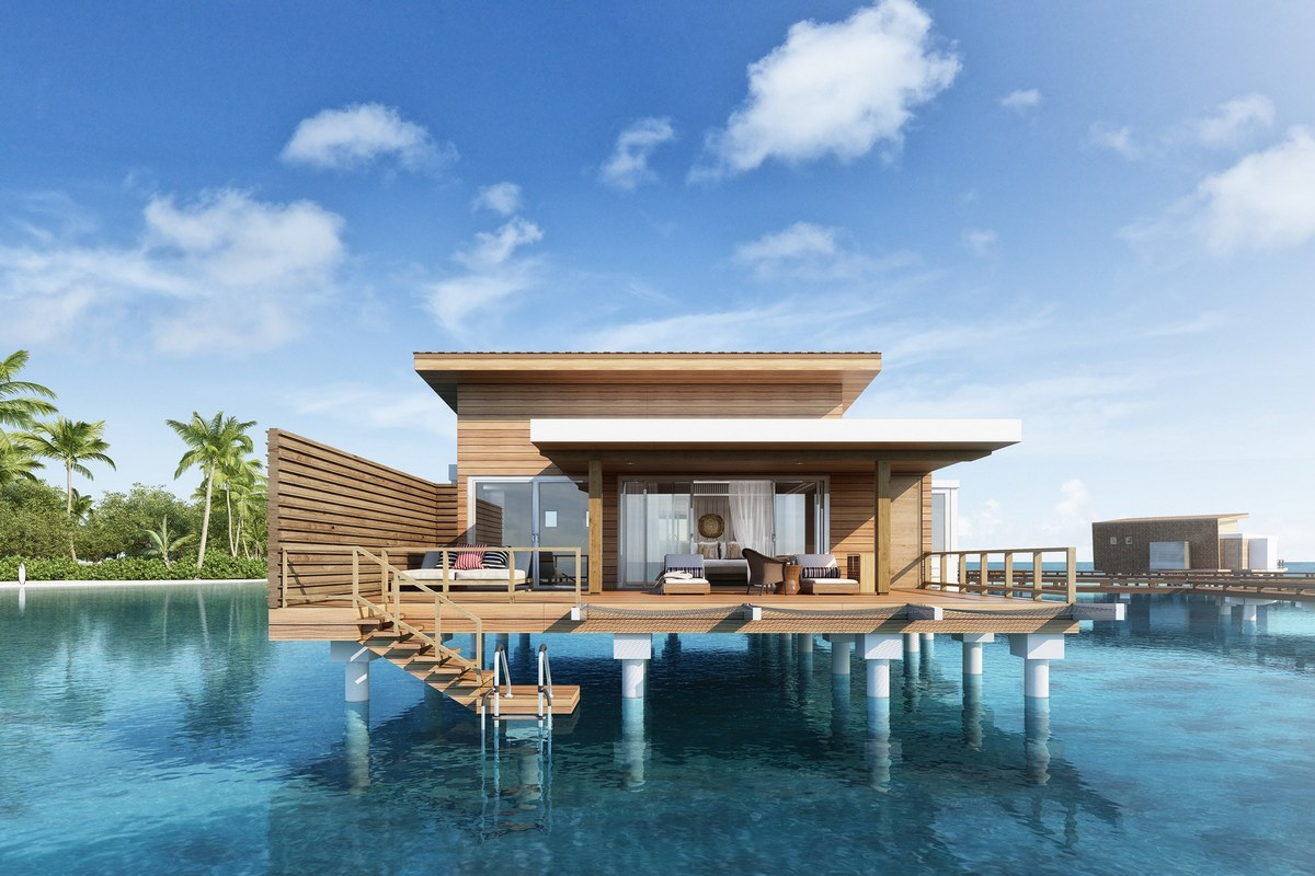 The Chedi Kudavillingili will have the longest pool in the Maldives