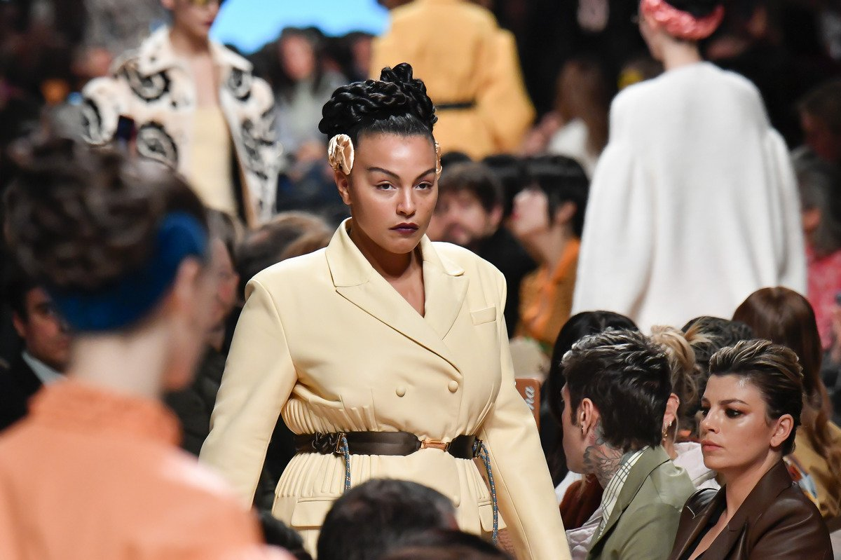 Fendi creates fashion history with its first plus sized runway models : Luxurylaunches