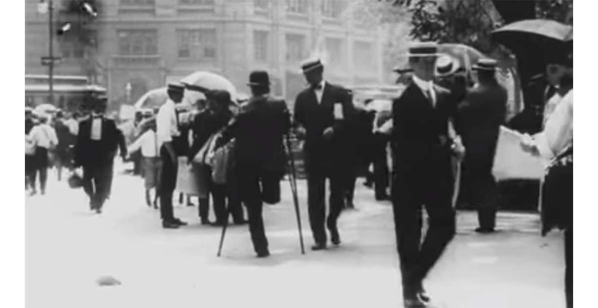 Simply stunning - 1911 footage of New York city has been colored using AI : Luxurylaunches