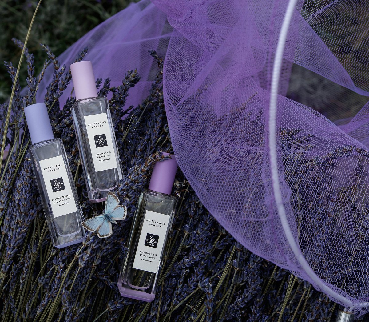 Jo Malone launches a trio of fragrances infused with the invigorating scent of Lavender : Luxurylaunches