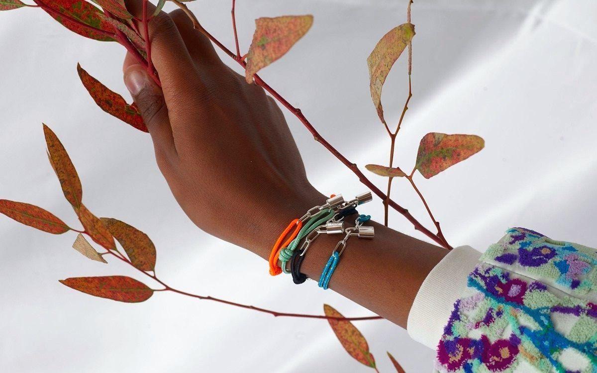 Virgil Abloh has designed striking UNICEF x Louis Vuitton Silver Lockit accessories : Luxurylaunches