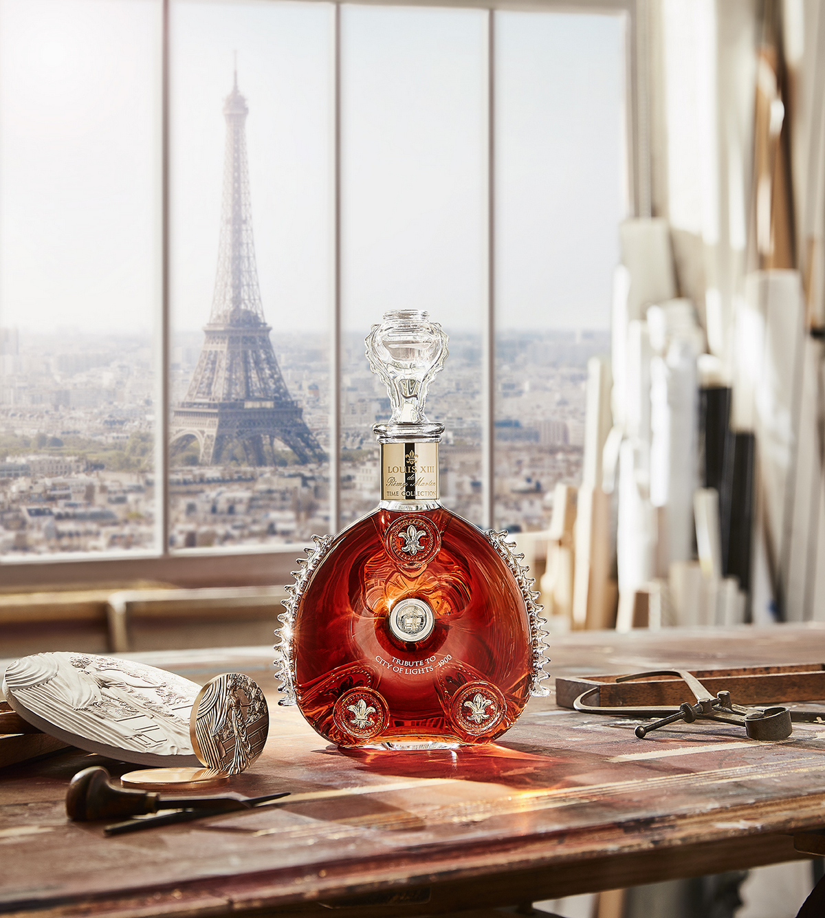 Louis XIII pays tribute to Paris with this special $7,600 bottle of cognac : Luxurylaunches