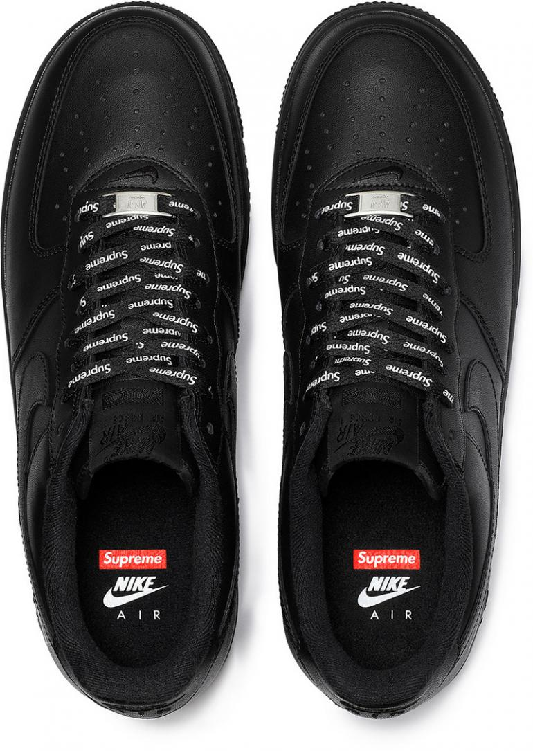 Coming soon: Supreme x Nike Air Force 1 Low monochrome ...