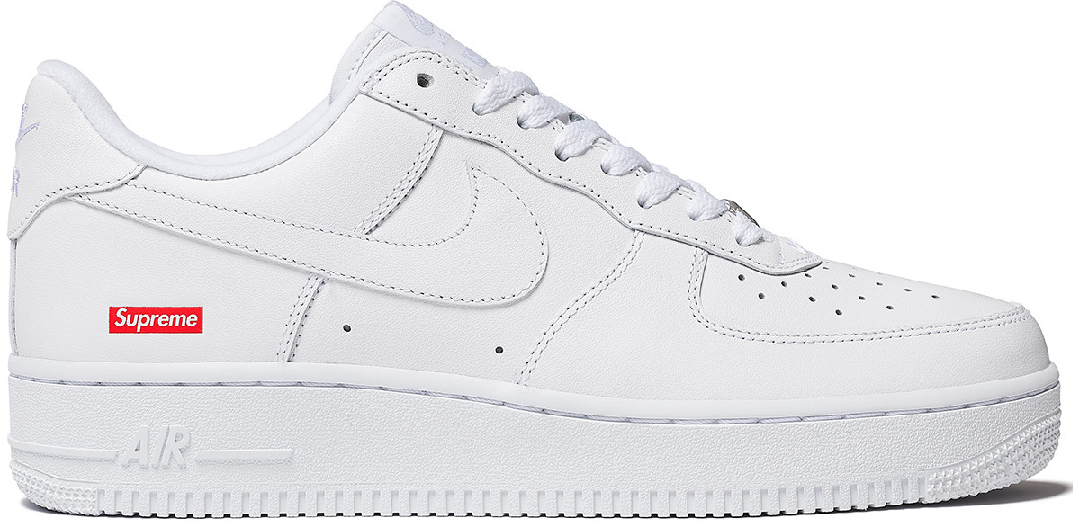 Coming soon: Supreme x Nike Air Force 1 Low monochrome beauties : Luxurylaunches