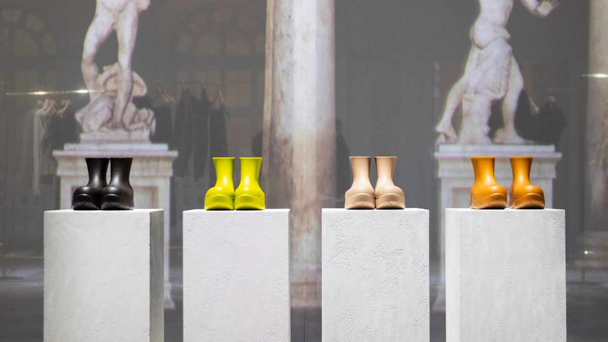 Bottega Veneta unveils boots made from 100% bio-degradable material : Luxurylaunches