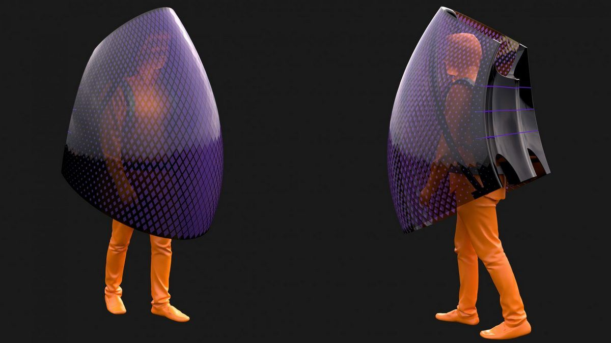 A Chinese designer has created a Batman like Coronavirus body shield to protect against outbreaks : Luxurylaunches
