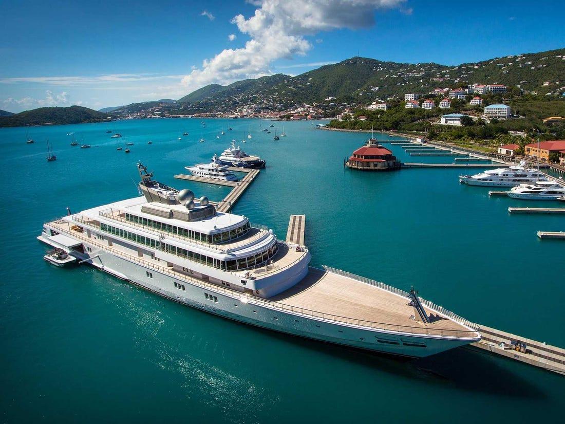 American billionaire David Geffen slammed for flaunting self-isolation onboard his $590 million super yacht : Luxurylaunches