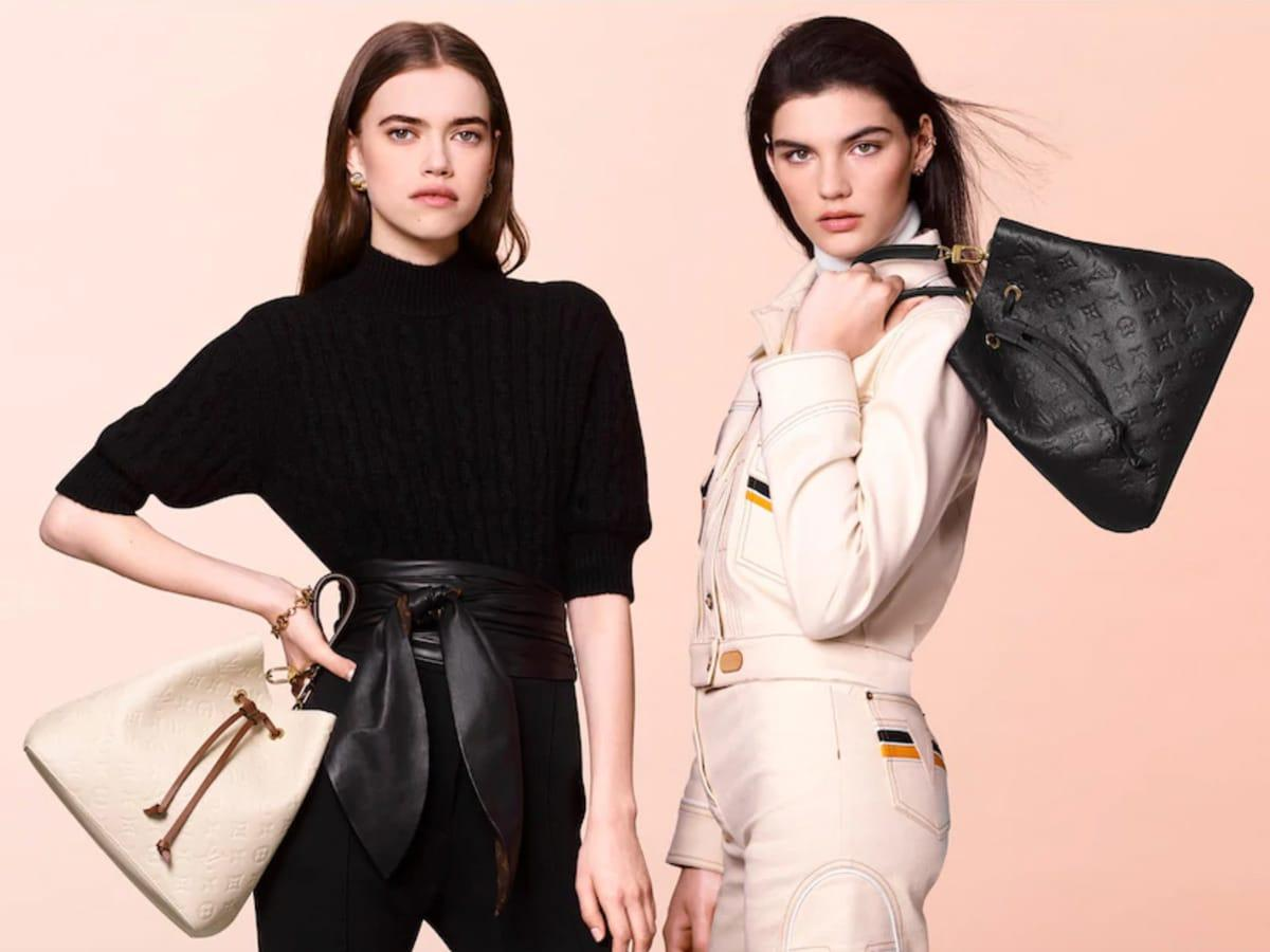 Louis Vuitton unveils the NéoNoé bucket bag in Monogram Empreinte Leather : Luxurylaunches