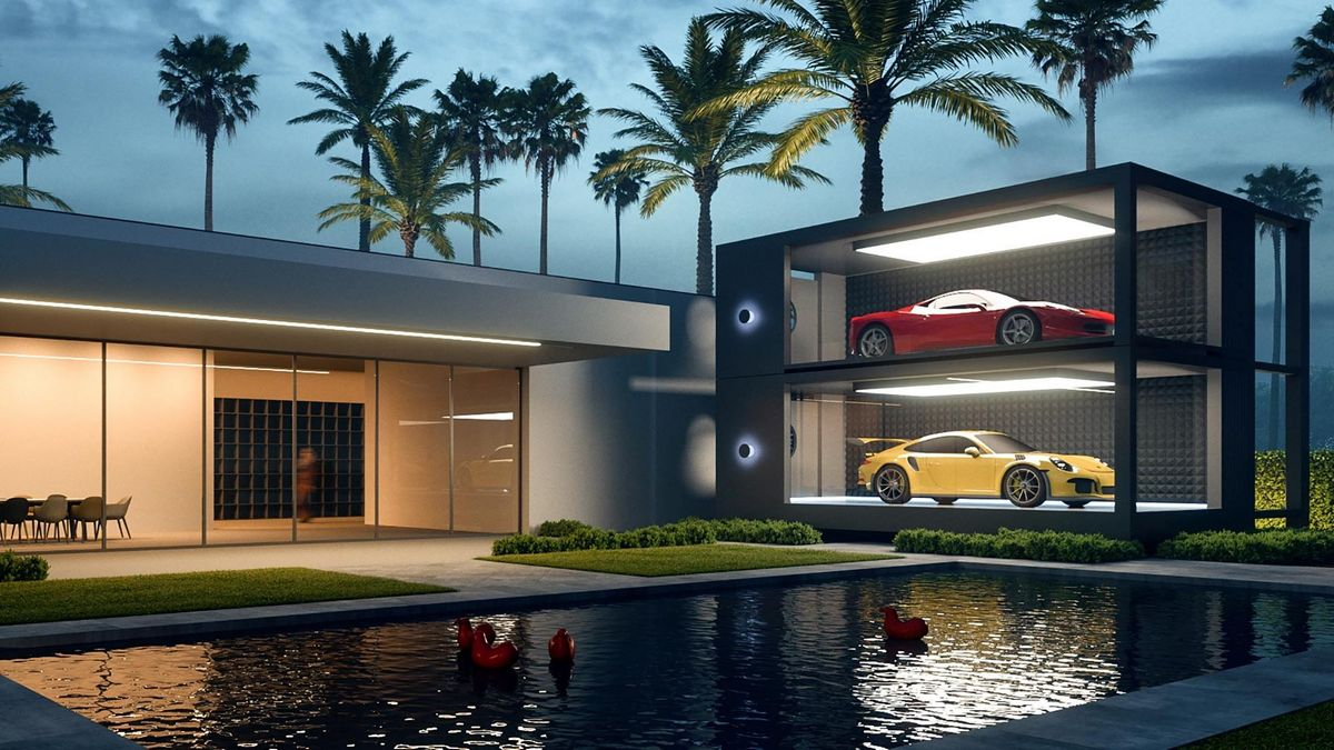 Luxury Garages The Future Of Storing Cars Luxurylaunches