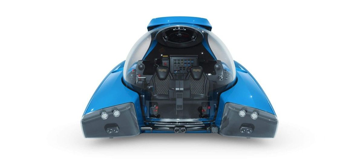 This Bond styled personal submarine costs $1 million and can be piloted with a video game styled controller