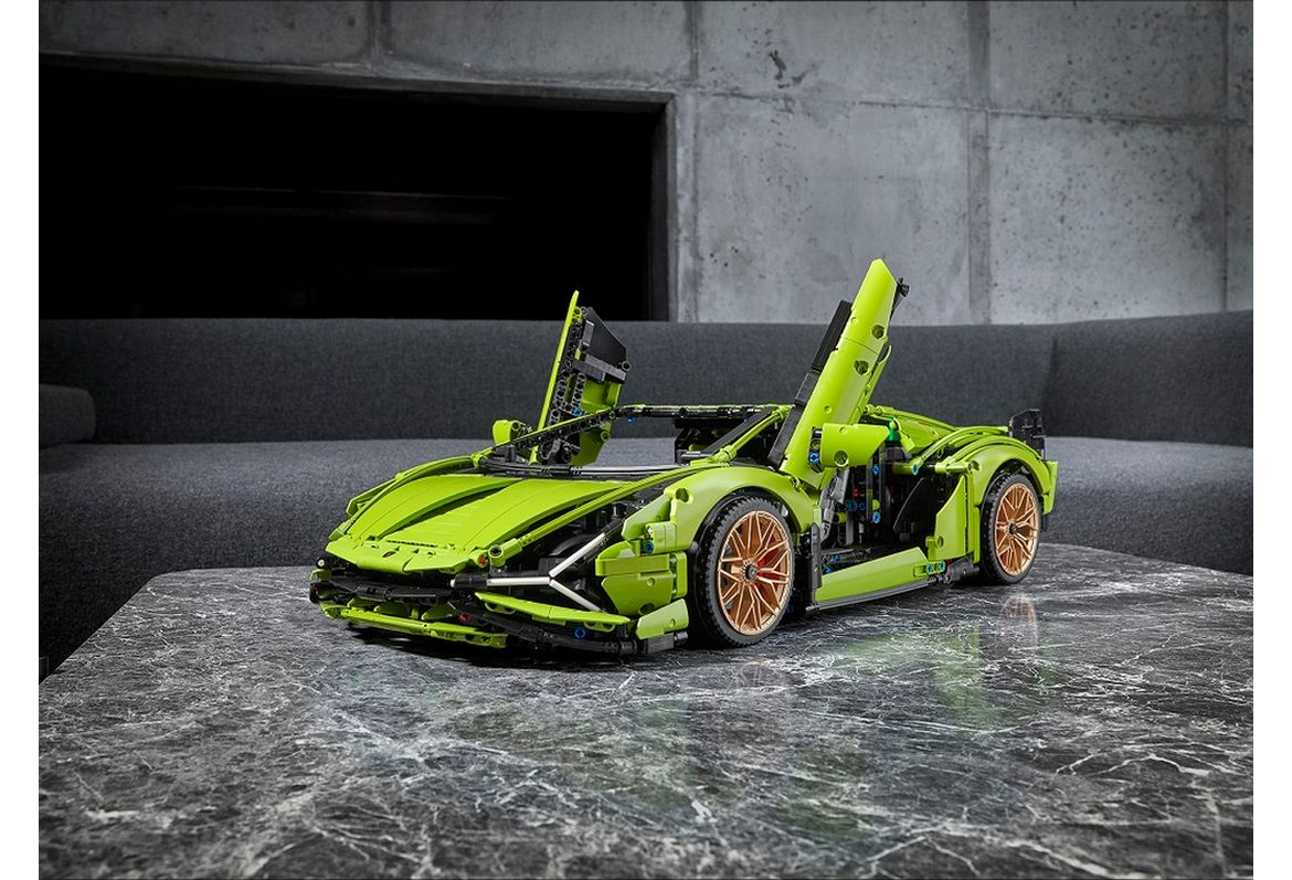 The most expensive Lego car set is this new 3,969-piece Lamborghini Sian FKP 37 kit at $380