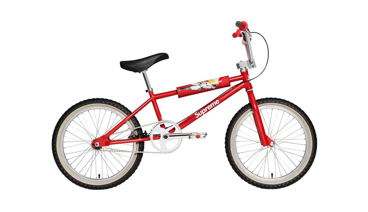 A blast from the past: Retro 1995 BMX Dirt Bike comes back to life as a Supreme collaboration