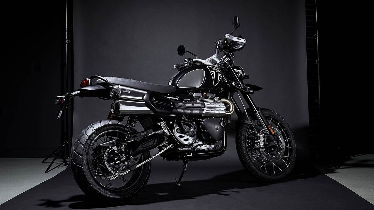 Triumph has released a limited-run Scrambler 1200 Bond Edition with a dark, sinister look : Luxurylaunches