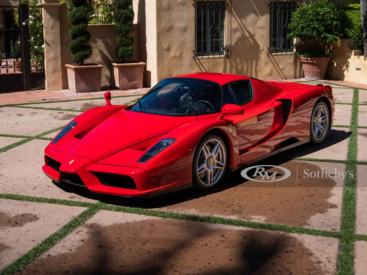 Sold for $2.6 million – This 2003 Enzo Ferrari has become the most expensive car to be auctioned online