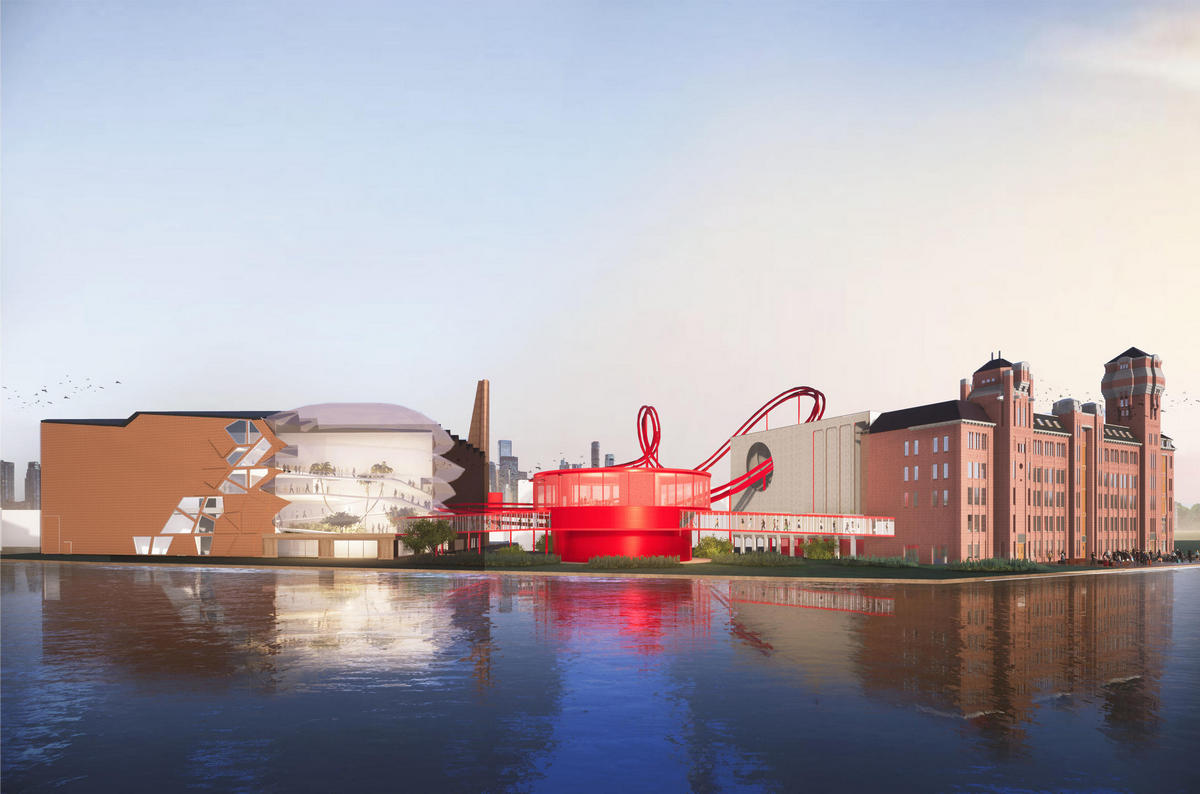This Willy Wonka-styled chocolate factory in the Netherlands will have a roller coaster running through its buildings : Luxurylaunches