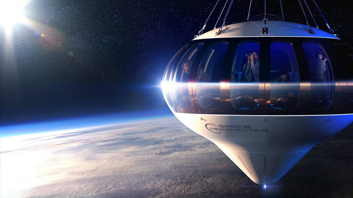 This futuristic high altitude balloon will take tourists to the edge of space for $125,000
