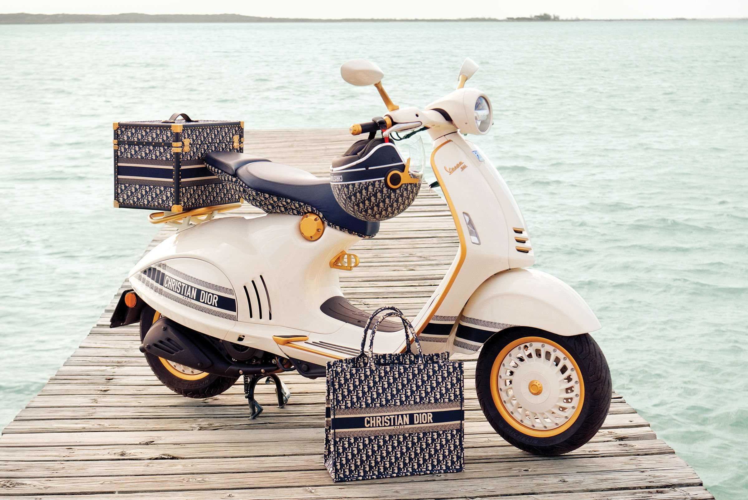 The most fashionable and stylish Vespa scooters ever made